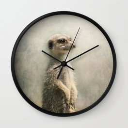 The Watcher on the post... Wall Clock