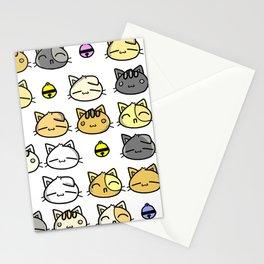 Meowy Days Stationery Cards