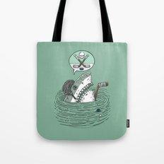 The Enforcer Shark Tote Bag