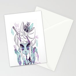 Cut me to pieces Stationery Cards