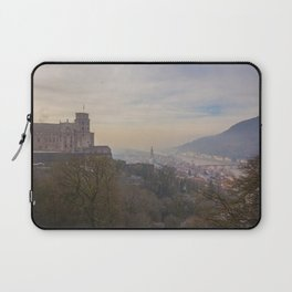 Castle and Town Views-Heidelberg, Germany Laptop Sleeve