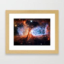 gAlaXY : A Star is Born Framed Art Print