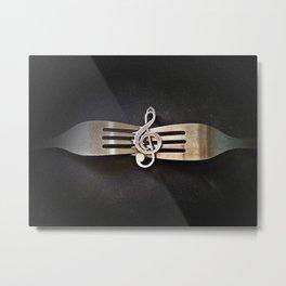 Buen provecho Metal Print