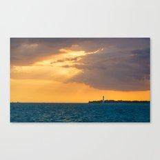 Lighthouse Miami Florida Canvas Print