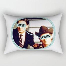 Best Friends - Twin Peaks Rectangular Pillow