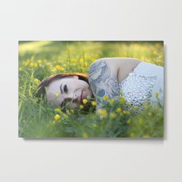 the queen of buttercups Metal Print