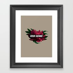 sauvage Framed Art Print