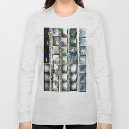 Film Strips From Outer Space Long Sleeve T-shirt