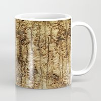 wood Mugs featuring wood by Кaterina Кalinich