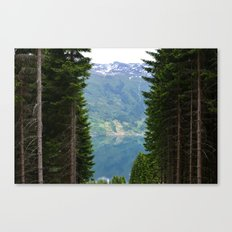 norwegian fjords Canvas Print