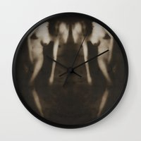 erotic Wall Clocks featuring Love & Longing - Erotic Art by Falko Follert Art-FF77