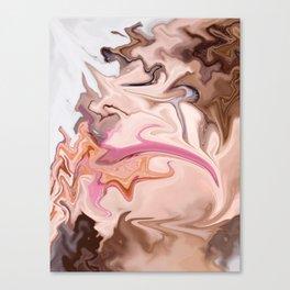 Lipmonk: digital abstraction Canvas Print
