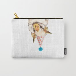 Baby Bat with Party Hat Carry-All Pouch