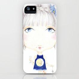 Moon Kiss iPhone Case