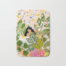 Bathing with Plants Bath Mat