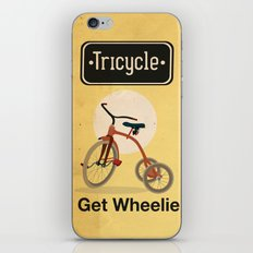 TRICYCLE iPhone & iPod Skin