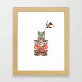 BALENCIAGA: FLORA BOTANICA Framed Art Print