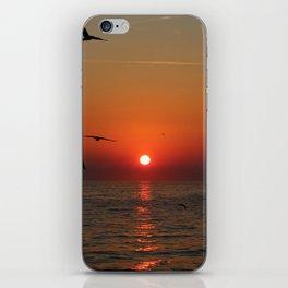 Sunset in Rovinj, Croatia - summer vibes iPhone Skin