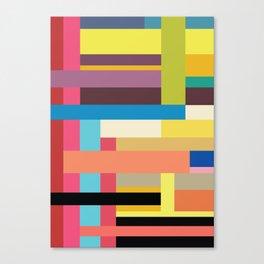 Color Rods 3 Canvas Print