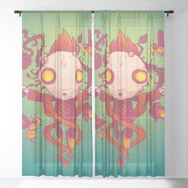 HIVES Sheer Curtain