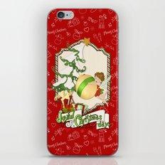 Fairy Merry Christmas iPhone & iPod Skin