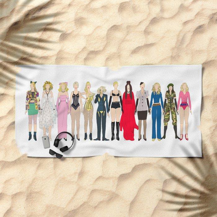 Outfits of Madge Fashion Beach Towel