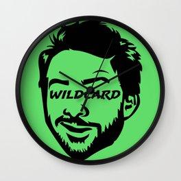 Wildcard Charlie Wall Clock