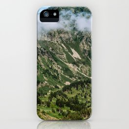 Cloud over a Pyrénées Mountain iPhone Case