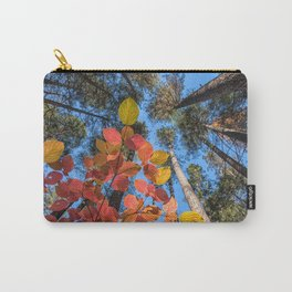 Dogwood and Pines Carry-All Pouch