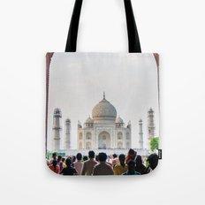 Entering the Taj Mahal Tote Bag