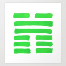 Coming Together - I Ching - Hexagram 45 Art Print