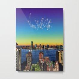 NYC II Metal Print