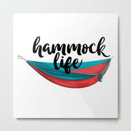 Hammock Life Metal Print