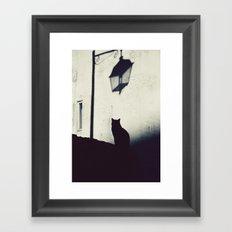 Dark Shadows Framed Art Print