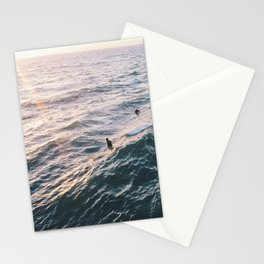 Into the Surf and Sun Stationery Cards