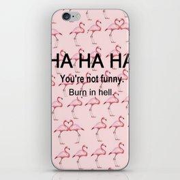 HA HA HA iPhone Skin
