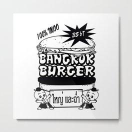 Bangkok Burger Metal Print