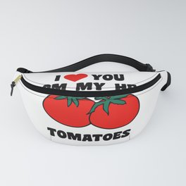 From My Head Tomatoes Fanny Pack