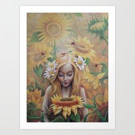 Sun Child Art Print