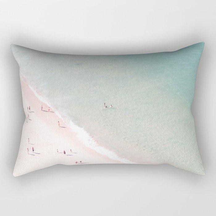 beach - summer of love Rectangular Pillow