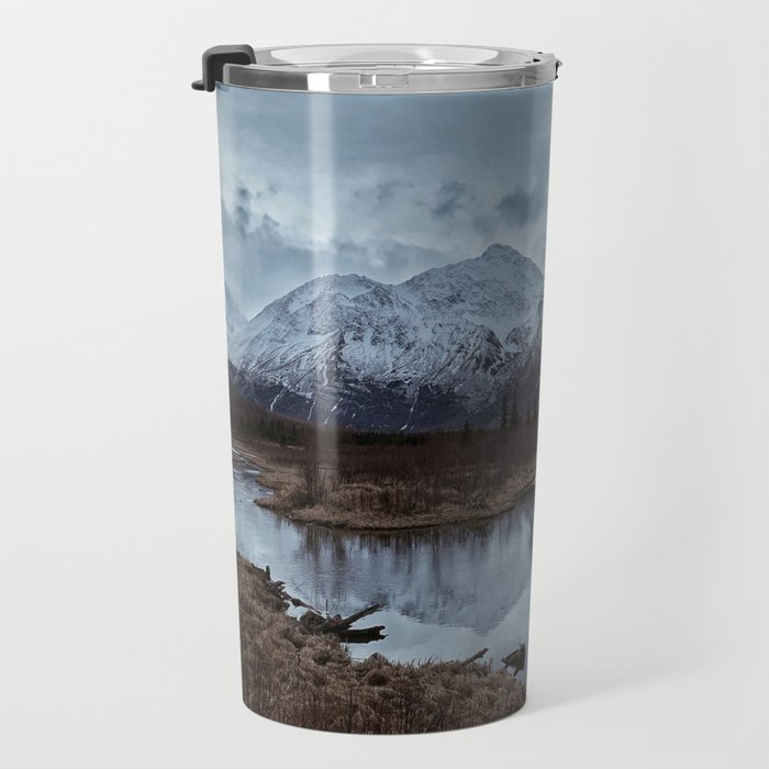 Into The Mountains Travel Mug