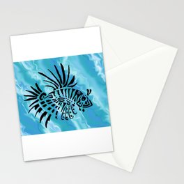 lion fish 1 Stationery Cards