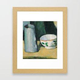 Bowl and Milk-Jug Framed Art Print