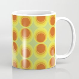 Abstract art with a vintage touch: Solar system Coffee Mug