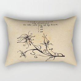 Sylvia Plath - I am Rectangular Pillow