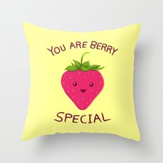 Fruity Truth Throw Pillow