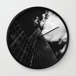 Steel City Plaza Wall Clock