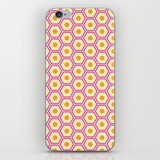 Colored Hexies iPhone & iPod Skin
