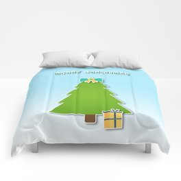 Christmas motif No 3 Comforters