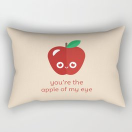 You're the Apple of My Eye Rectangular Pillow